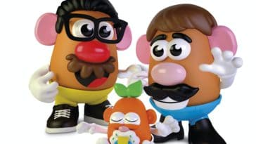Mr Potato Head gender neutral