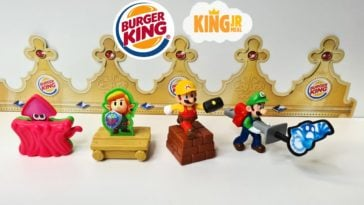 Nintendo Burger King toys