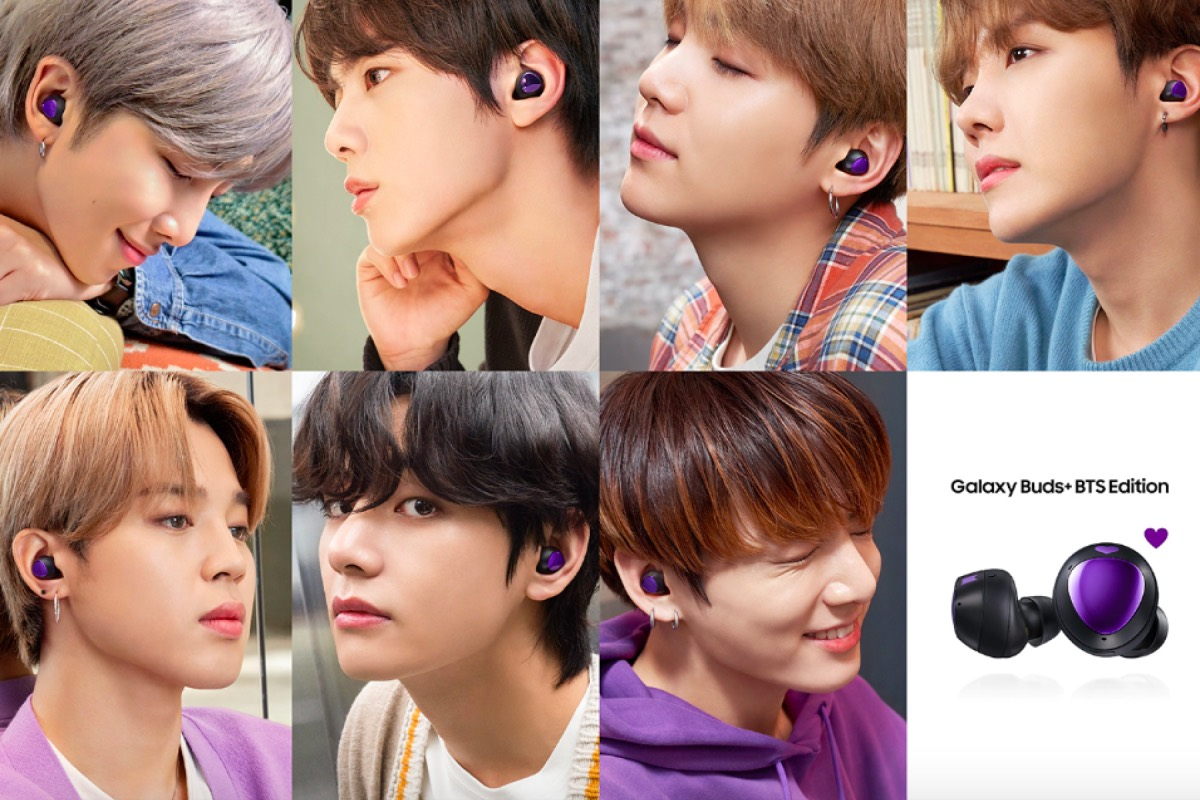 Buy the Galaxy Buds+ BTS Edition and get a 2nd pair free 14