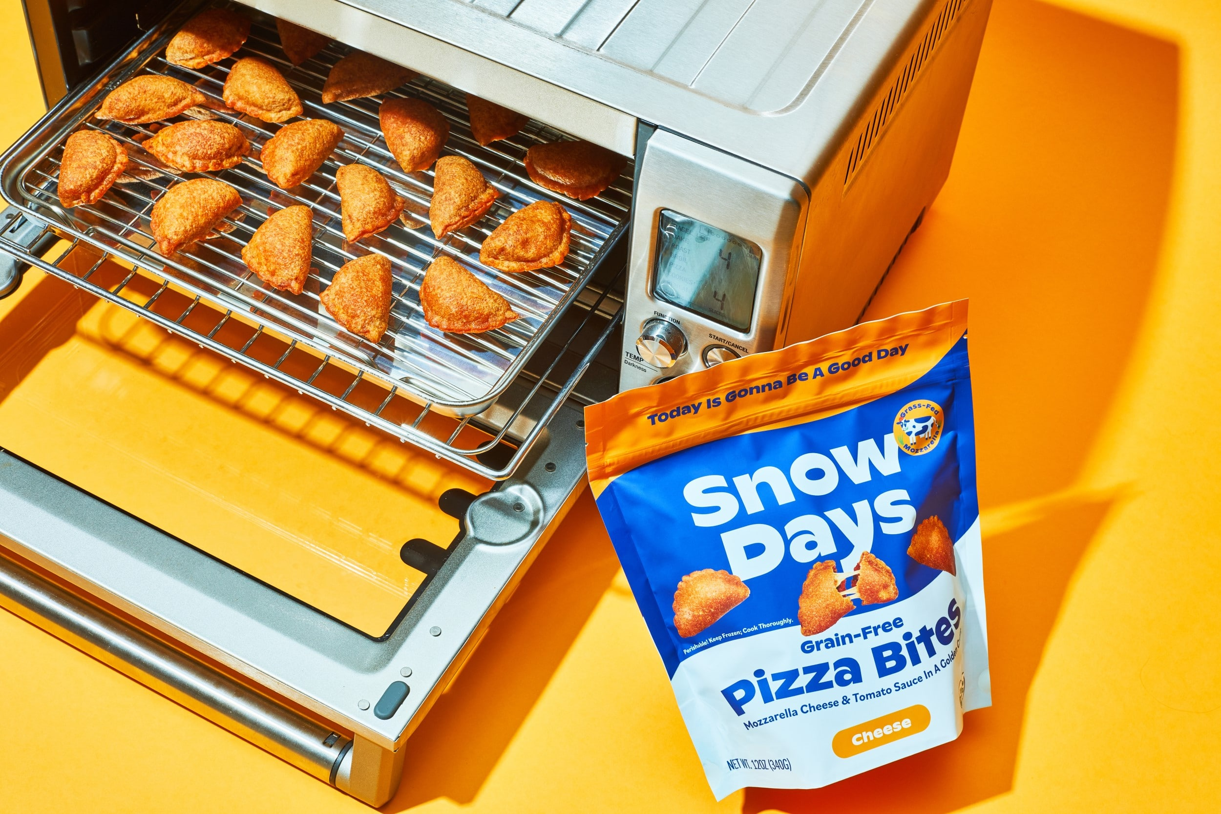 Snow Days gluten-free pizza bites are the healthiest on the market 12