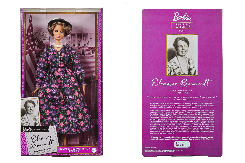 Barbie unveils Eleanor Roosevelt doll ahead of International Women's Day 16