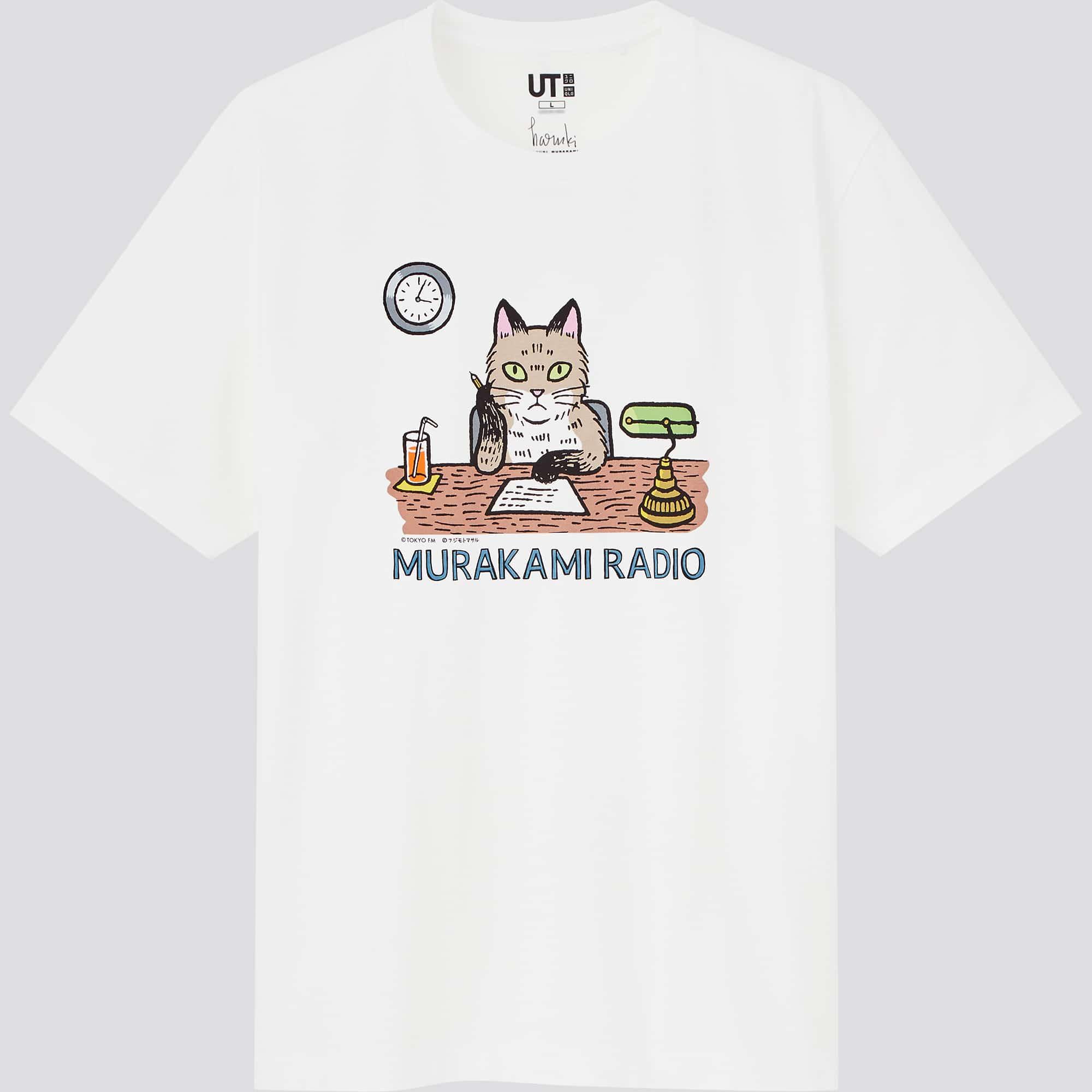 Uniqlo brings the creative world of Haruki Murakami to its new UT collection 18