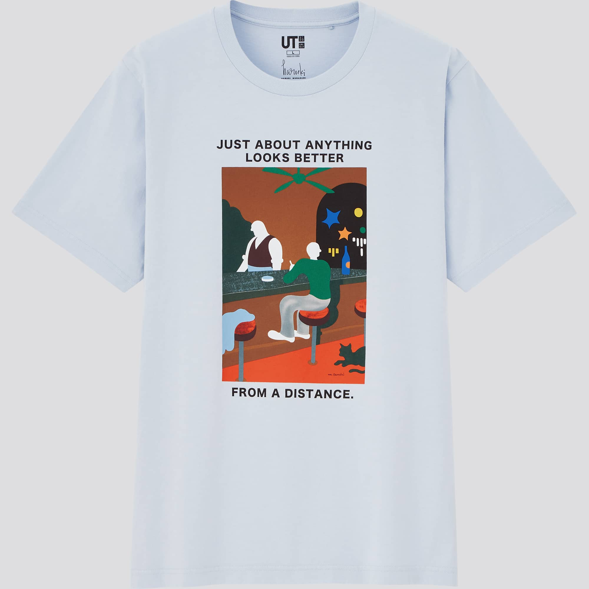 Uniqlo brings the creative world of Haruki Murakami to its new UT collection 12