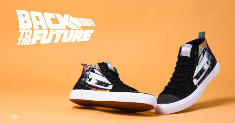 Akedo is dropping limited-edition Back to the Future sneakers this Friday 11