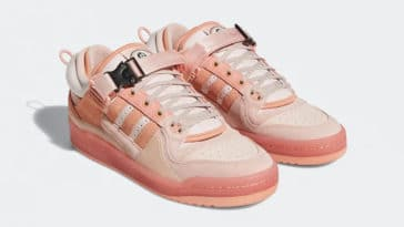 Bad Bunny and Adidas unveil a pink version of their Forum Buckle Low collab 21