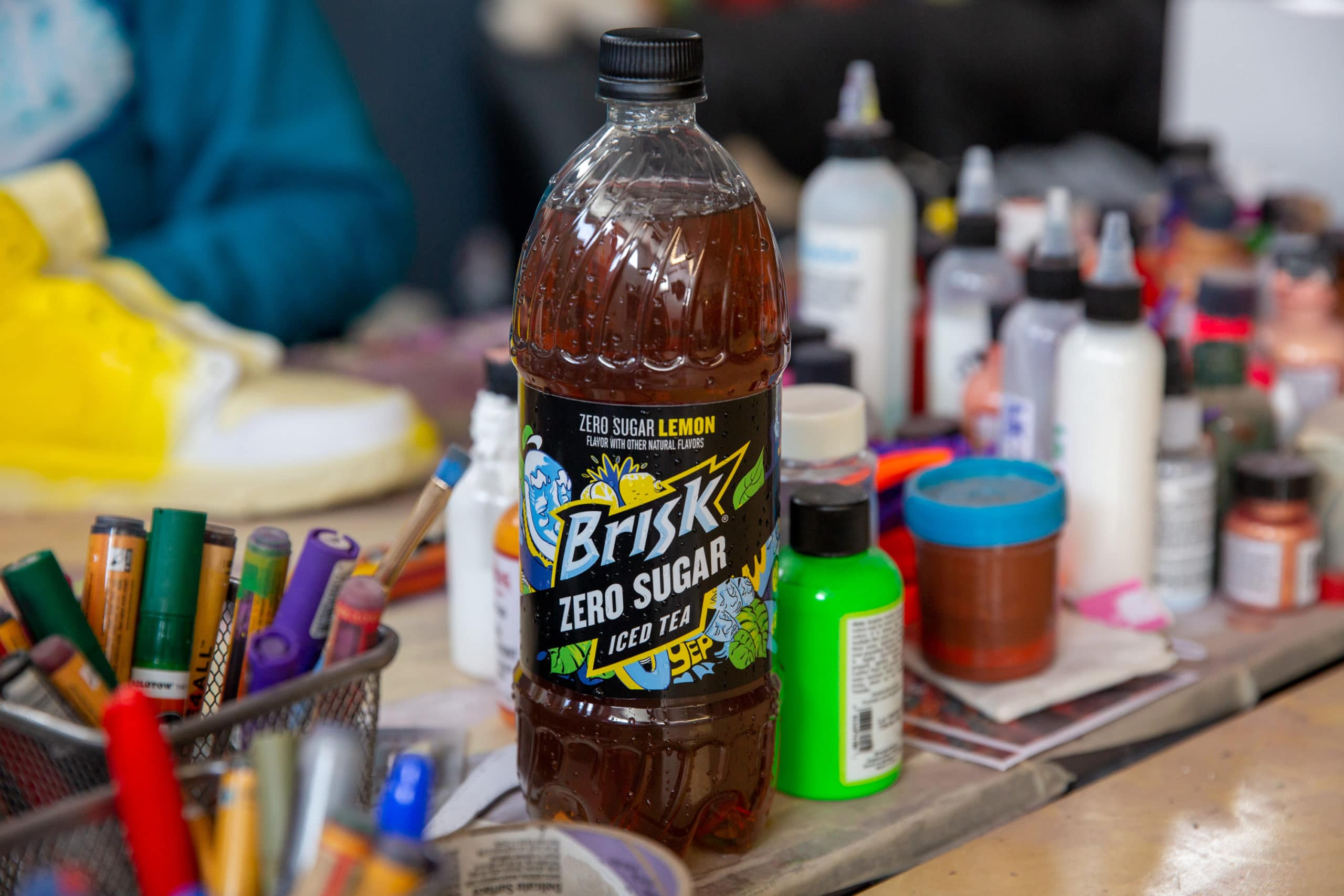 Brisk launches Zero Sugar Lemon Iced Tea with a sneaker collab with Mache 13