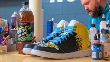 Brisk launches Zero Sugar Lemon Iced Tea with a sneaker collab with Mache 19