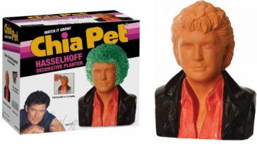Knight Rider star David Hasselhoff is now a Chia Pet 12