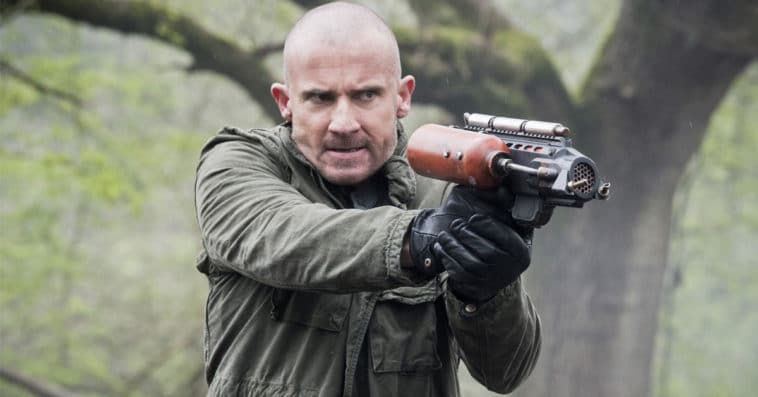 Why did Dominic Purcell leave Legends of Tomorrow? 11