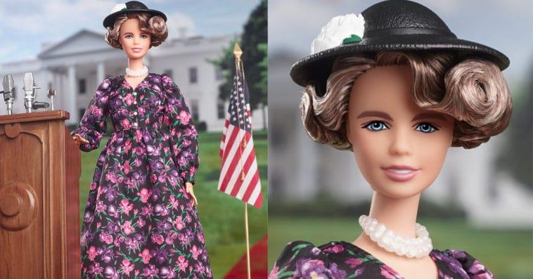 Barbie unveils Eleanor Roosevelt doll ahead of International Women's Day 14