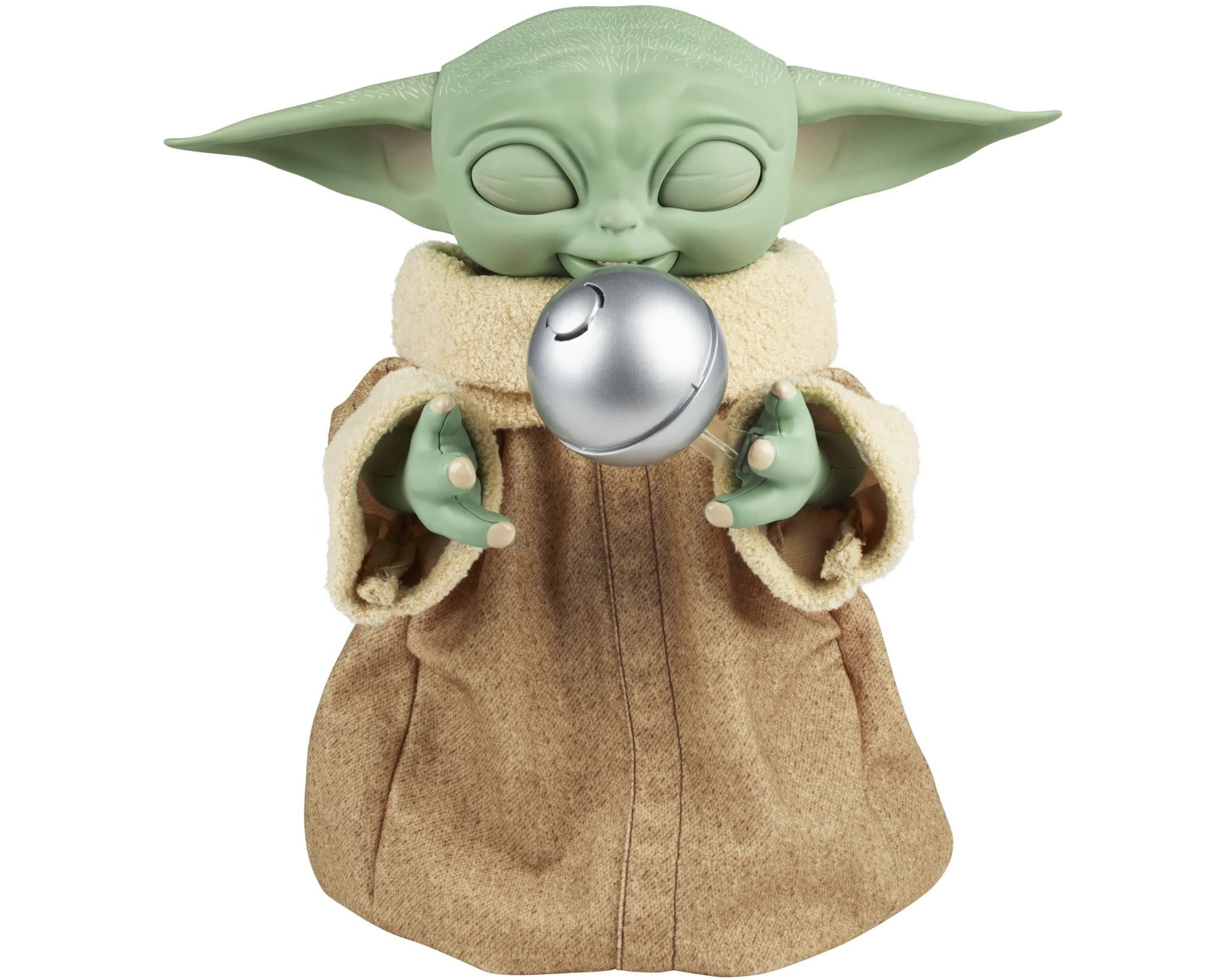 Hasbro's new Baby Yoda animatronic toy is inspired by Grogu's love for snacking 20