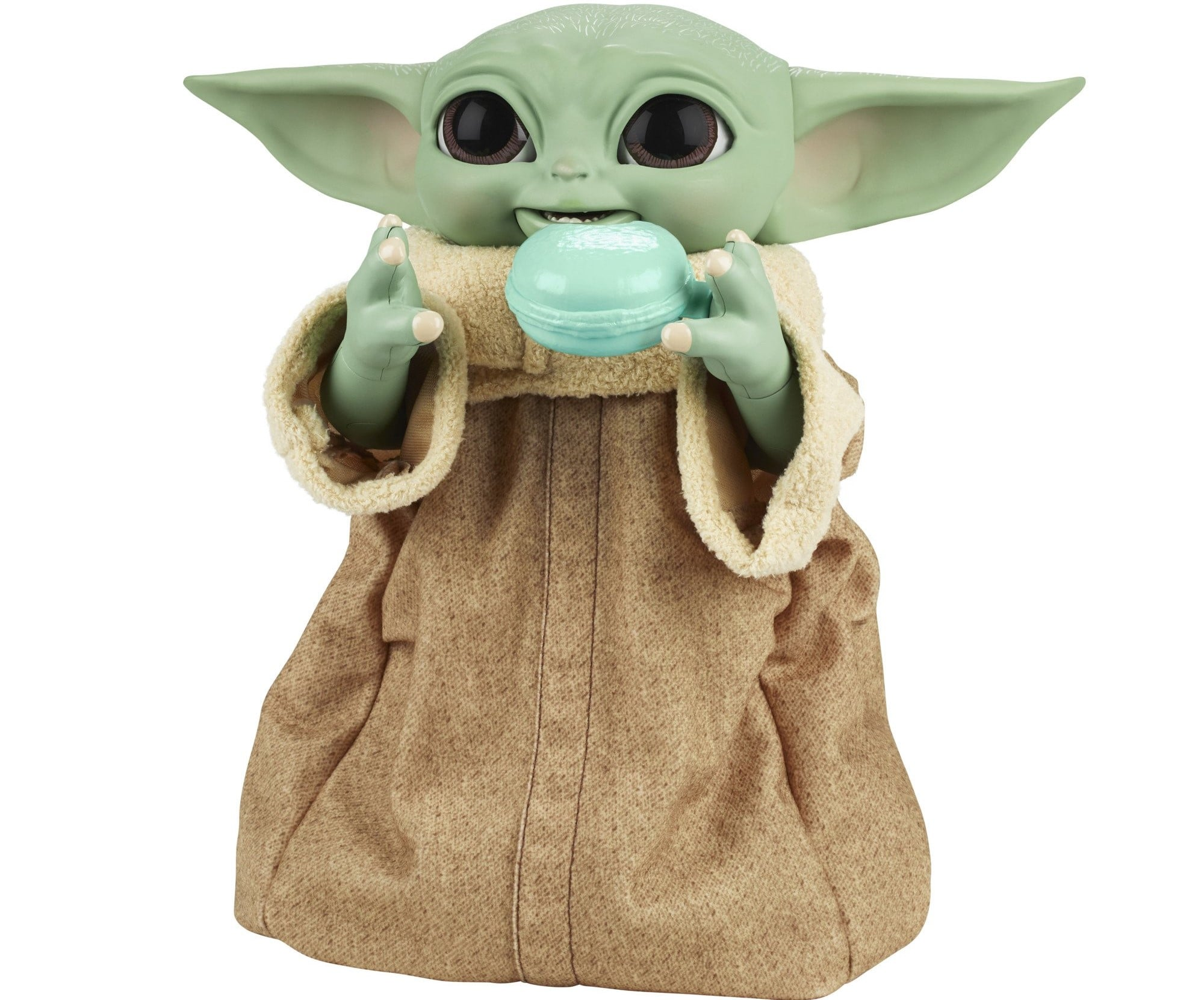 Hasbro's new Baby Yoda animatronic toy is inspired by Grogu's love for snacking 18