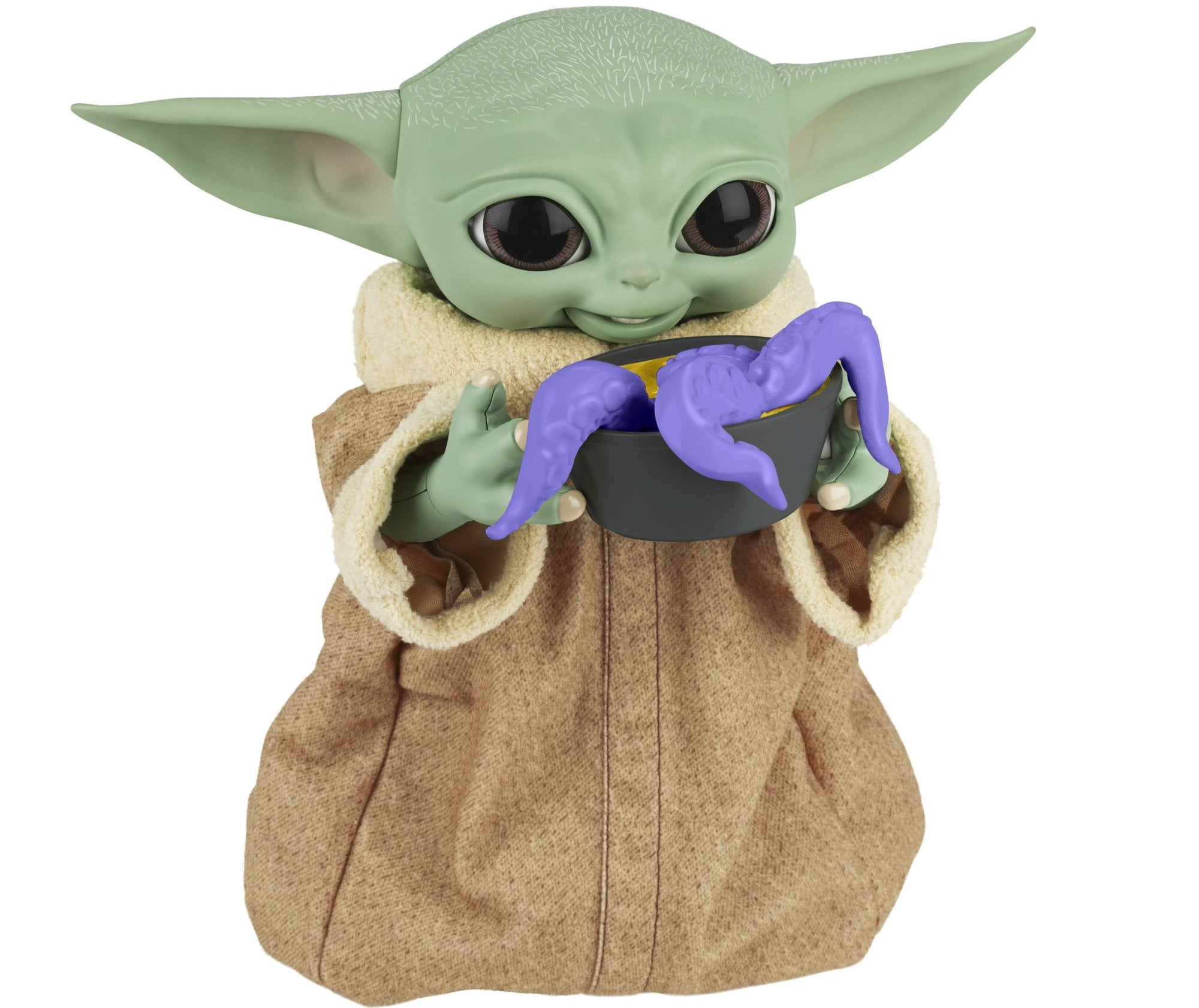 Hasbro's new Baby Yoda animatronic toy is inspired by Grogu's love for snacking 17