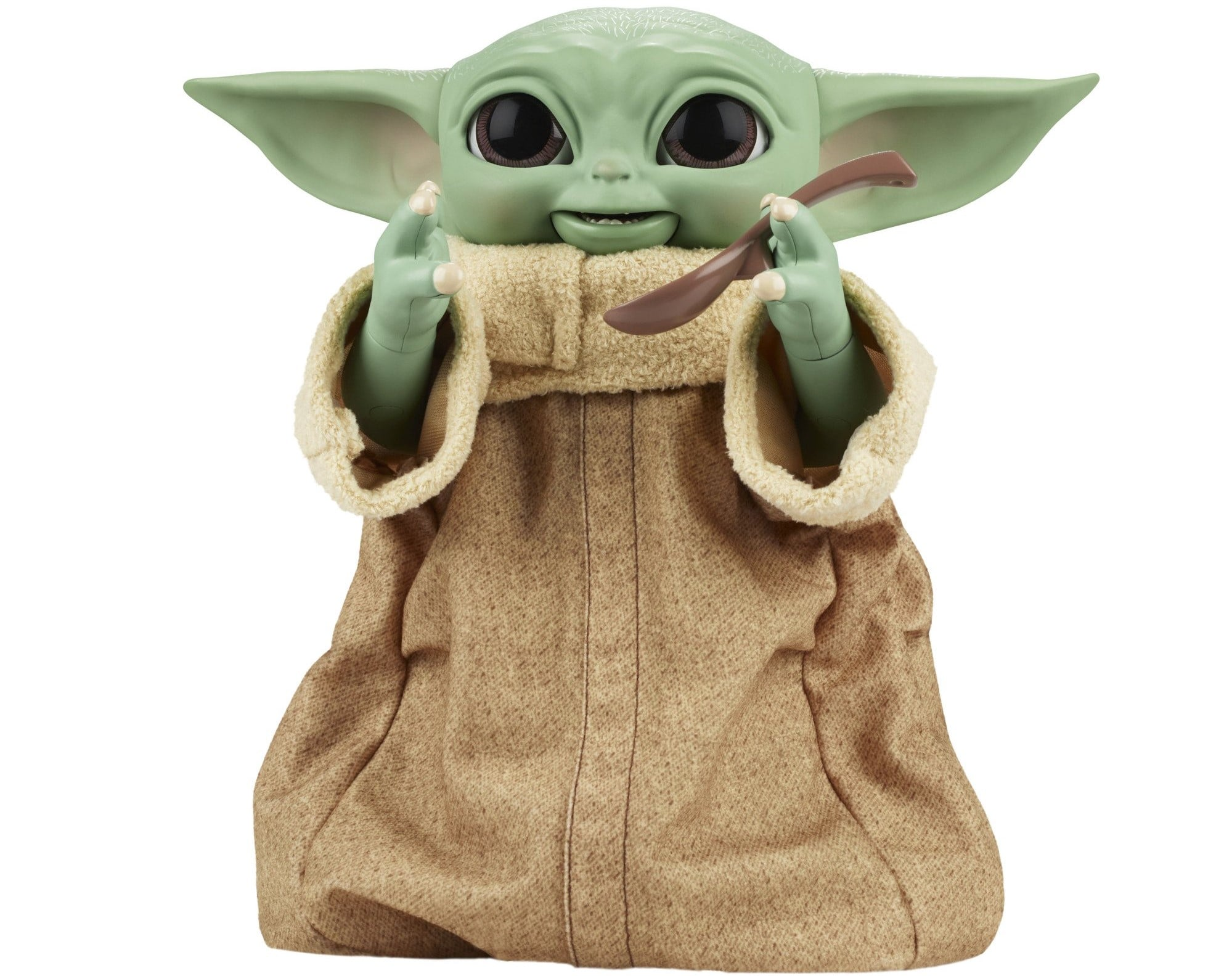 Hasbro's new Baby Yoda animatronic toy is inspired by Grogu's love for snacking 19