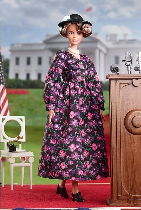 Barbie unveils Eleanor Roosevelt doll ahead of International Women's Day