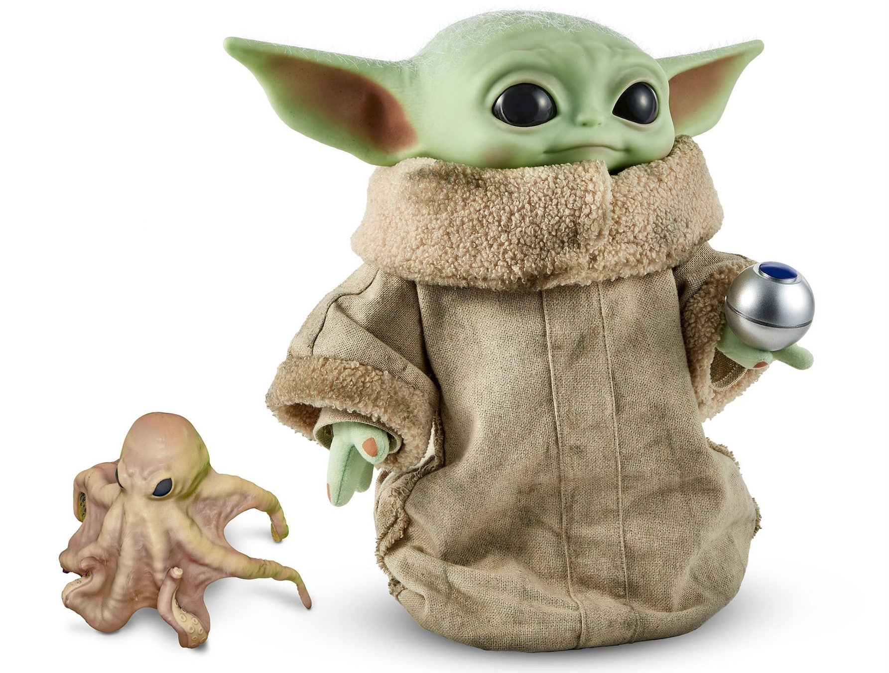 Baby Yoda gets a collector's edition plush with hover pram from Mattel 14