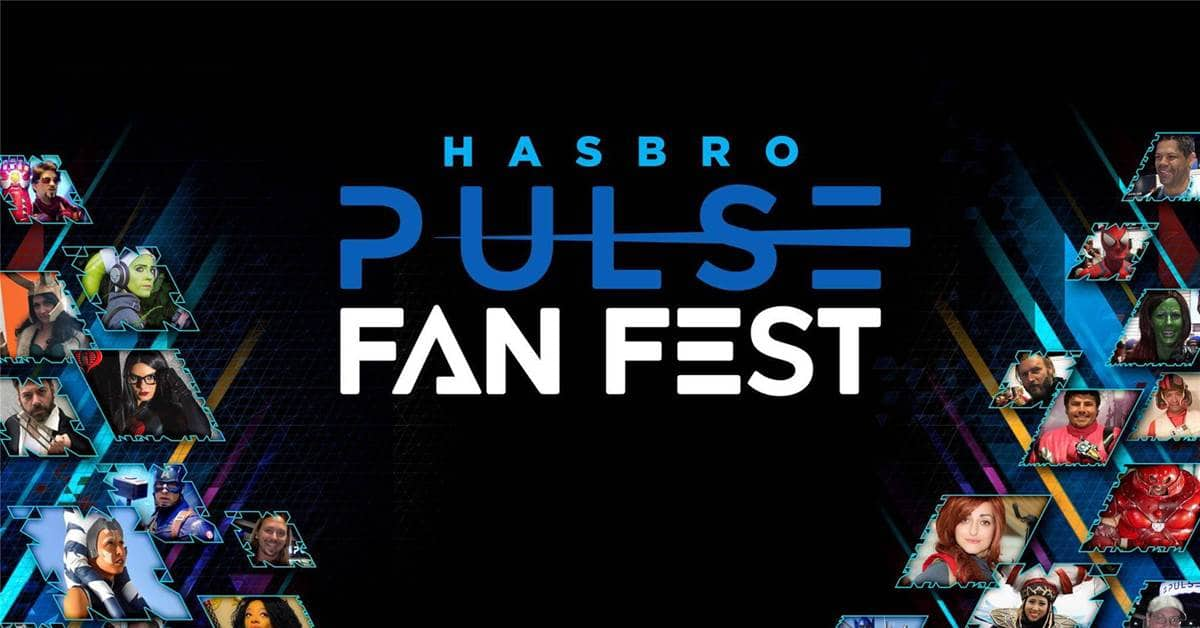 The first-ever Hasbro Pulse Fan Fest is happening this April 14