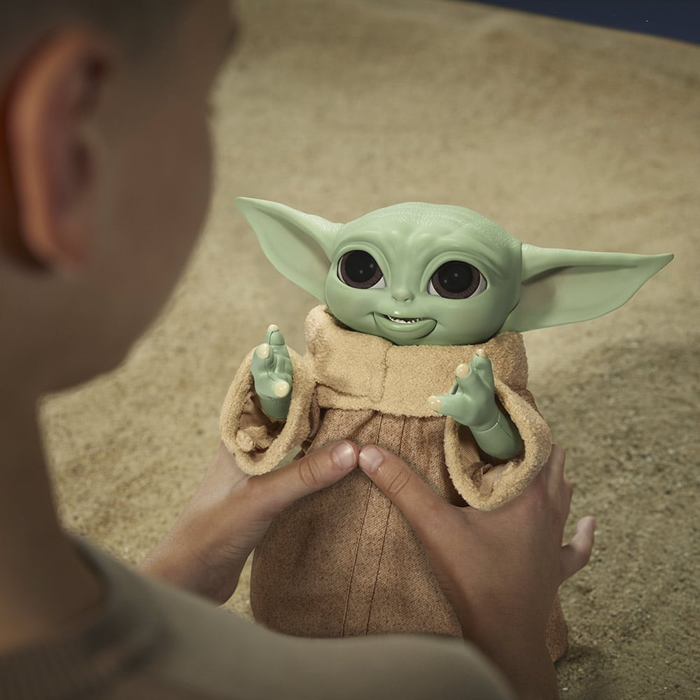 Hasbro's new Baby Yoda animatronic toy is inspired by Grogu's love for snacking 22