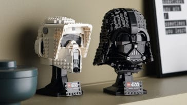LEGO unveils Darth Vader and Scout Trooper helmet sets ahead of Star Wars Day 14