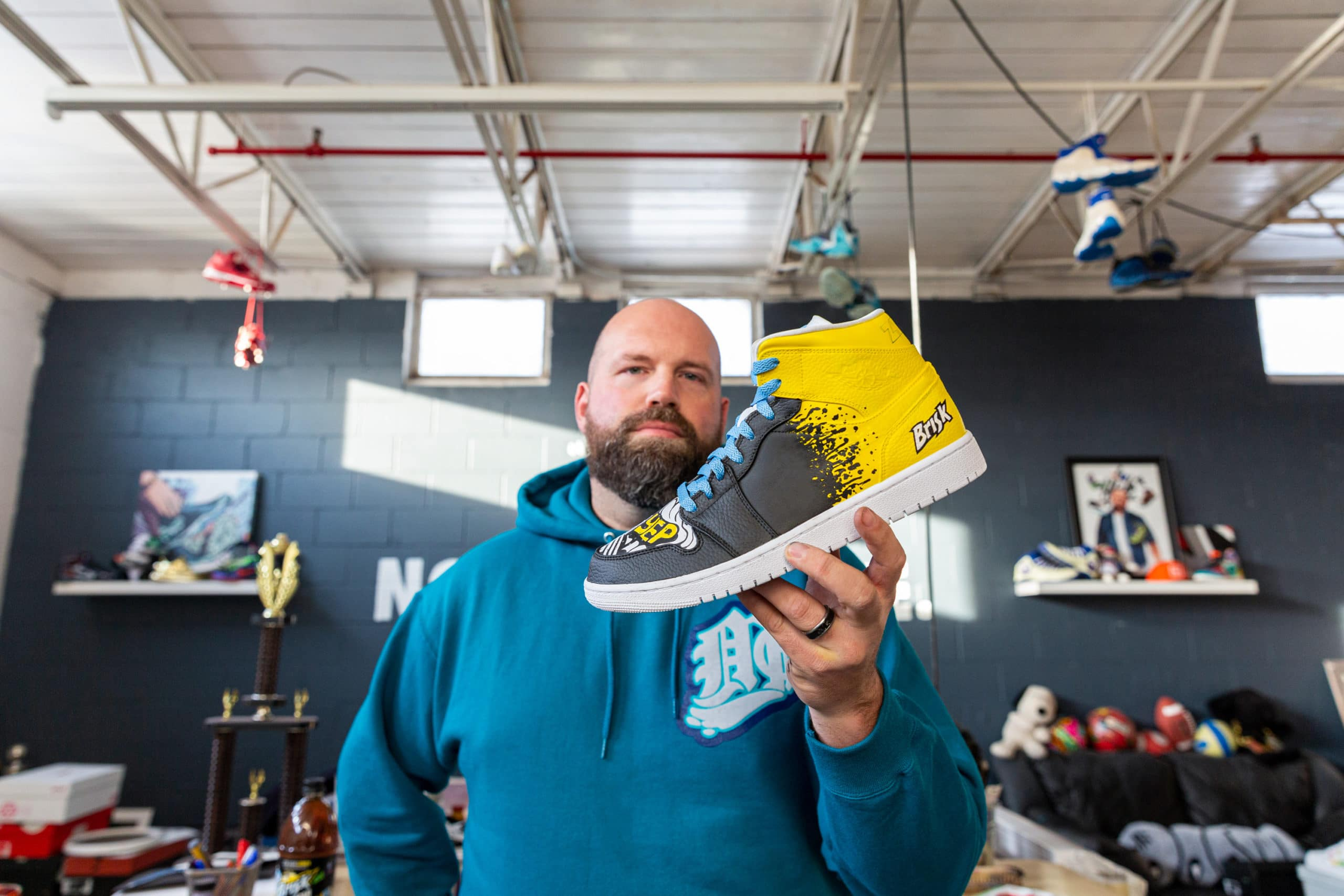 Brisk launches Zero Sugar Lemon Iced Tea with a sneaker collab with Mache 12