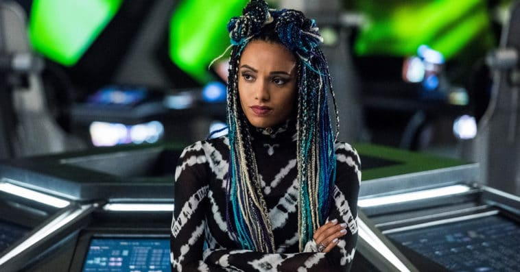 Why did Maisie Richardson-Sellers leave Legends of Tomorrow? 11