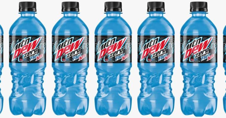 Mountain Dew Frost Bite Zero Sugar is coming to Walmart next week 11
