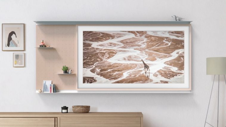 Samsung's Frame TV is now even slimmer and has a shelf accessory 11