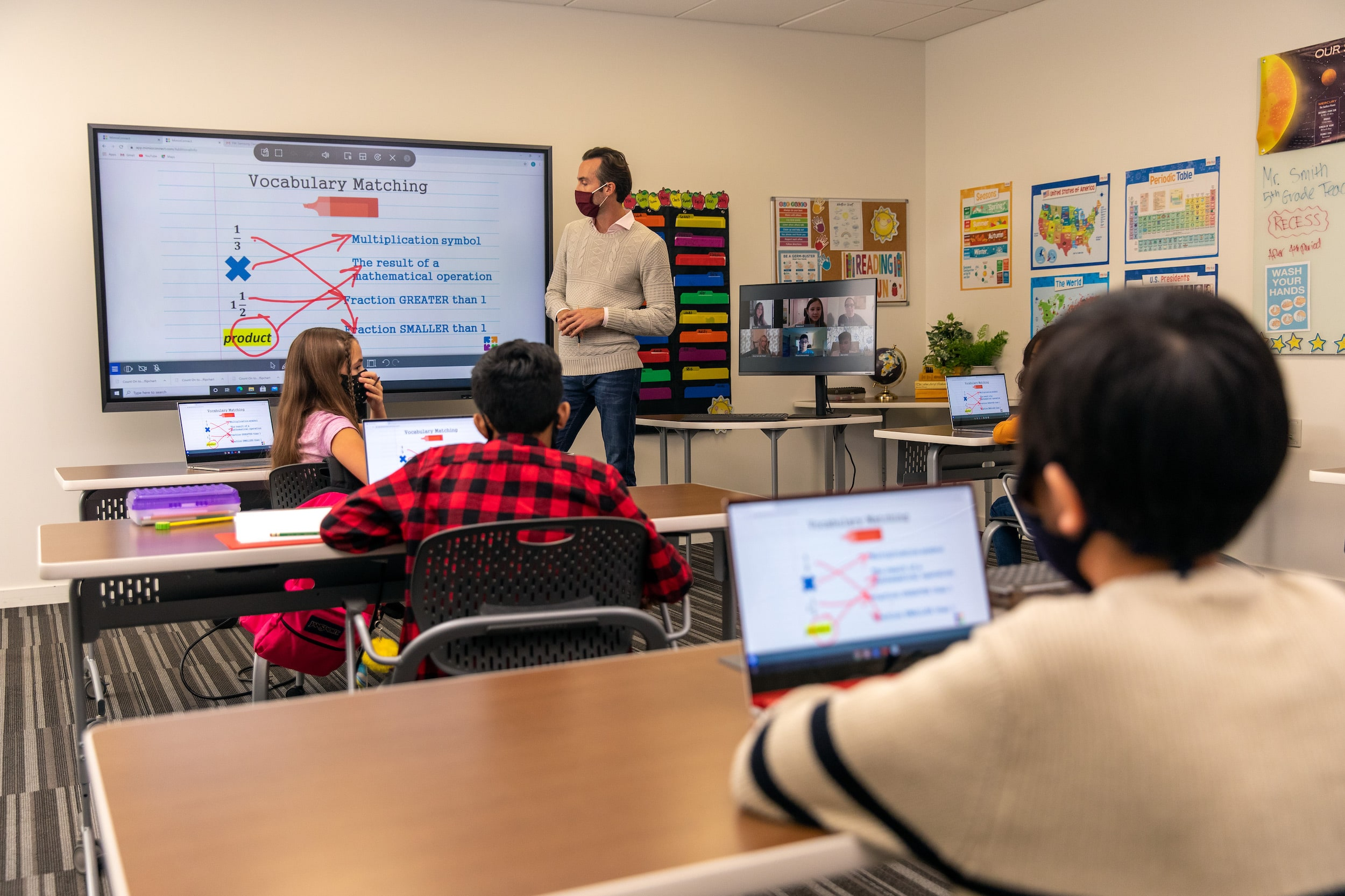 Samsung Interactive Display Flip 75inch for Hybrid Education