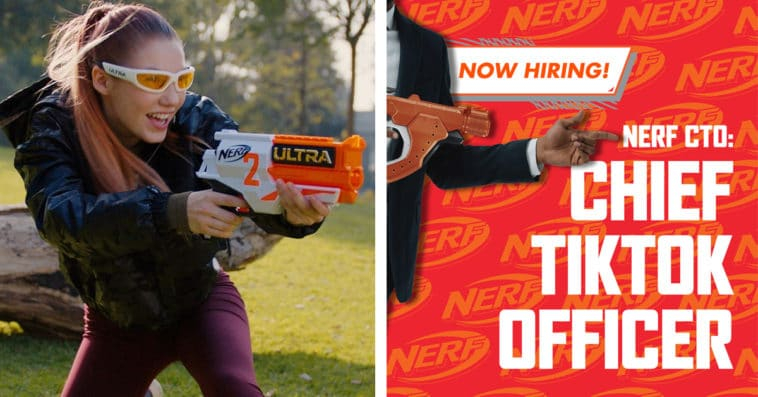 Nerf will pay you $10k a month to be its Chief TikTok Officer 11