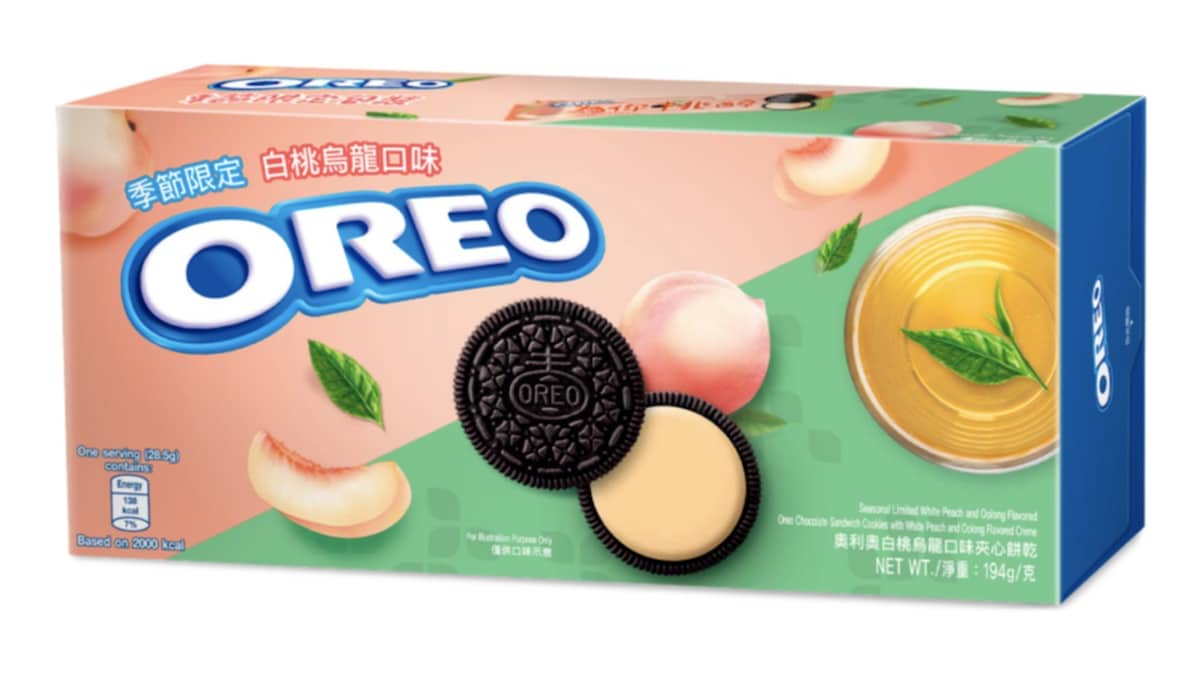 Oreo brings back Sakura Matcha and Oolong Peach flavors in time for spring 13