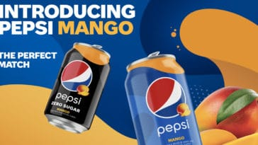 Pepsi adds Pepsi Mango and Pepsi Mango Zero Sugar to its permanent lineup 15