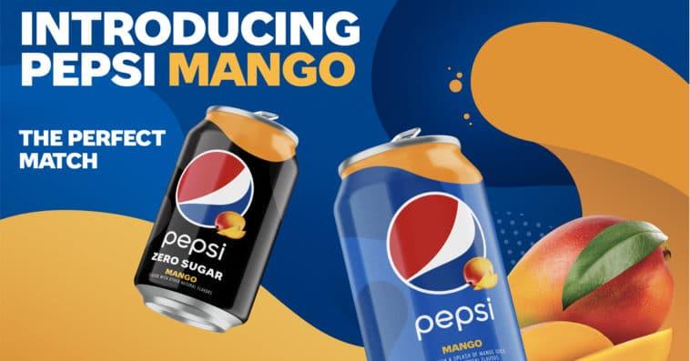 Pepsi adds Pepsi Mango and Pepsi Mango Zero Sugar to its permanent lineup 11