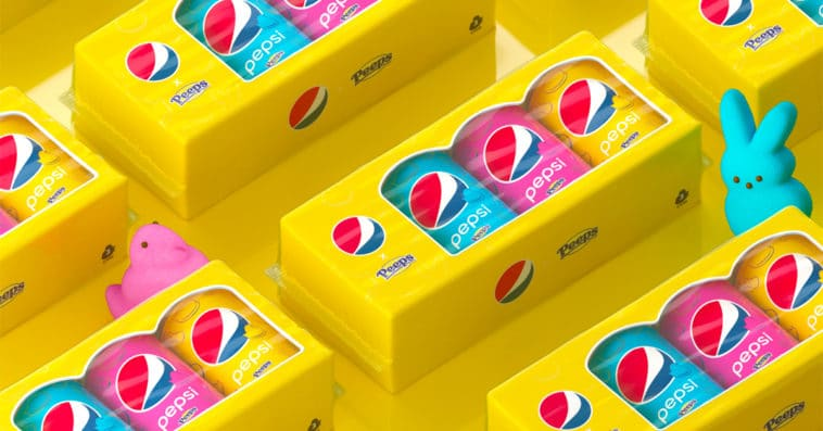 Pepsi teams up with Peeps for its first-ever marshmallow cola 11