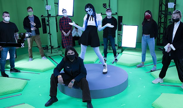 Pussy Riot releases PANIC ATTACK video inside of NFTs 11