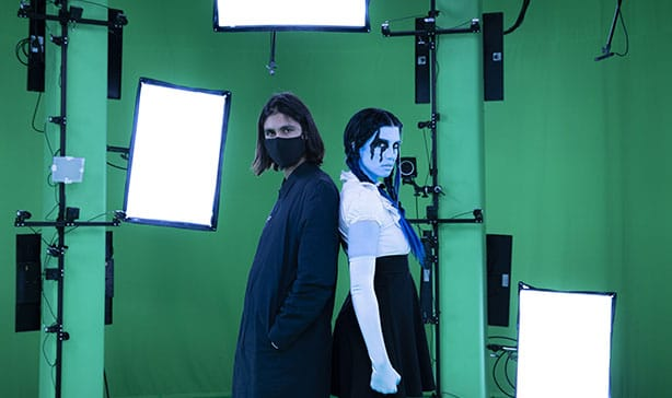 Pussy Riot releases PANIC ATTACK video inside of NFTs 14