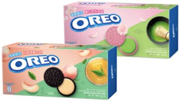 Oreo brings back Sakura Matcha and Oolong Peach flavors in time for spring 23