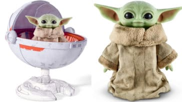 Baby Yoda gets a collector's edition plush with hover pram from Mattel 15