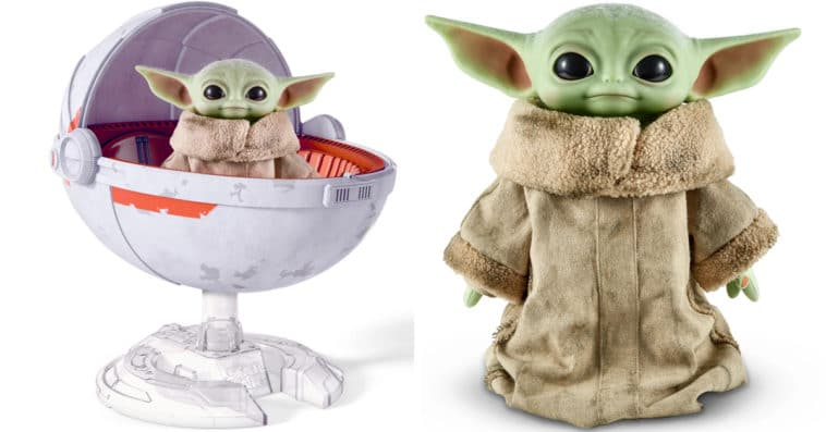Baby Yoda gets a collector's edition plush with hover pram from Mattel 11