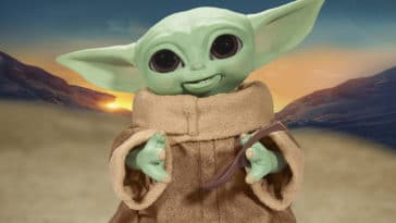 Hasbro's new Baby Yoda animatronic toy is inspired by Grogu's love for snacking 15