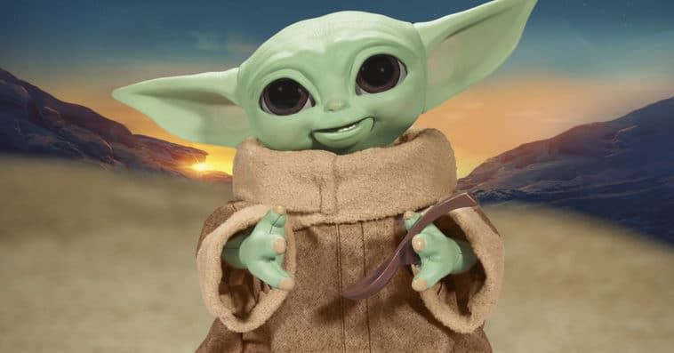 Hasbro's new Baby Yoda animatronic toy is inspired by Grogu's love for snacking 16