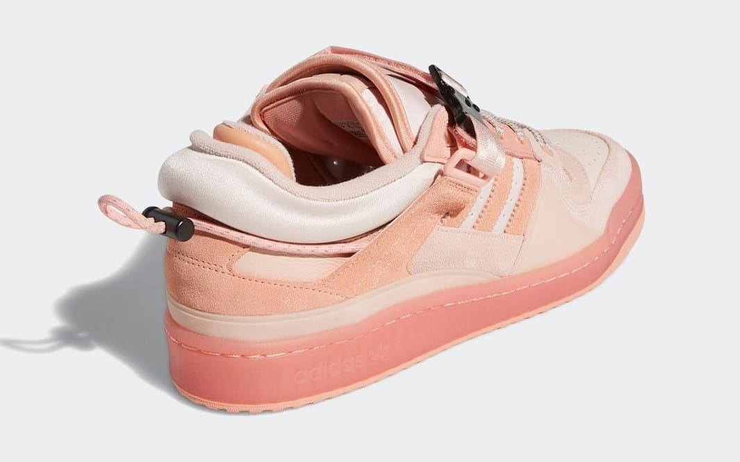Bad Bunny and Adidas unveil a pink version of their Forum Buckle Low collab 16