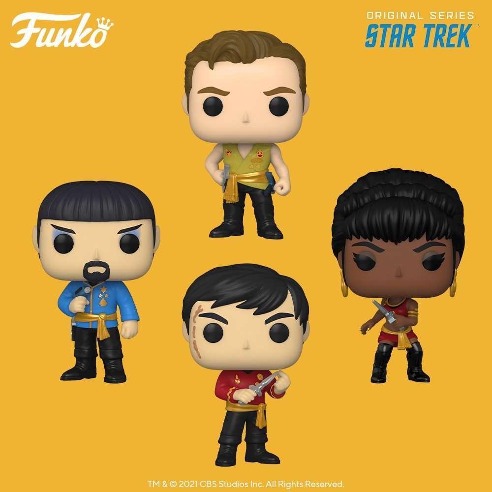Star Trek: The Original Series' Gorn and Khan get their first Funko Pops 13