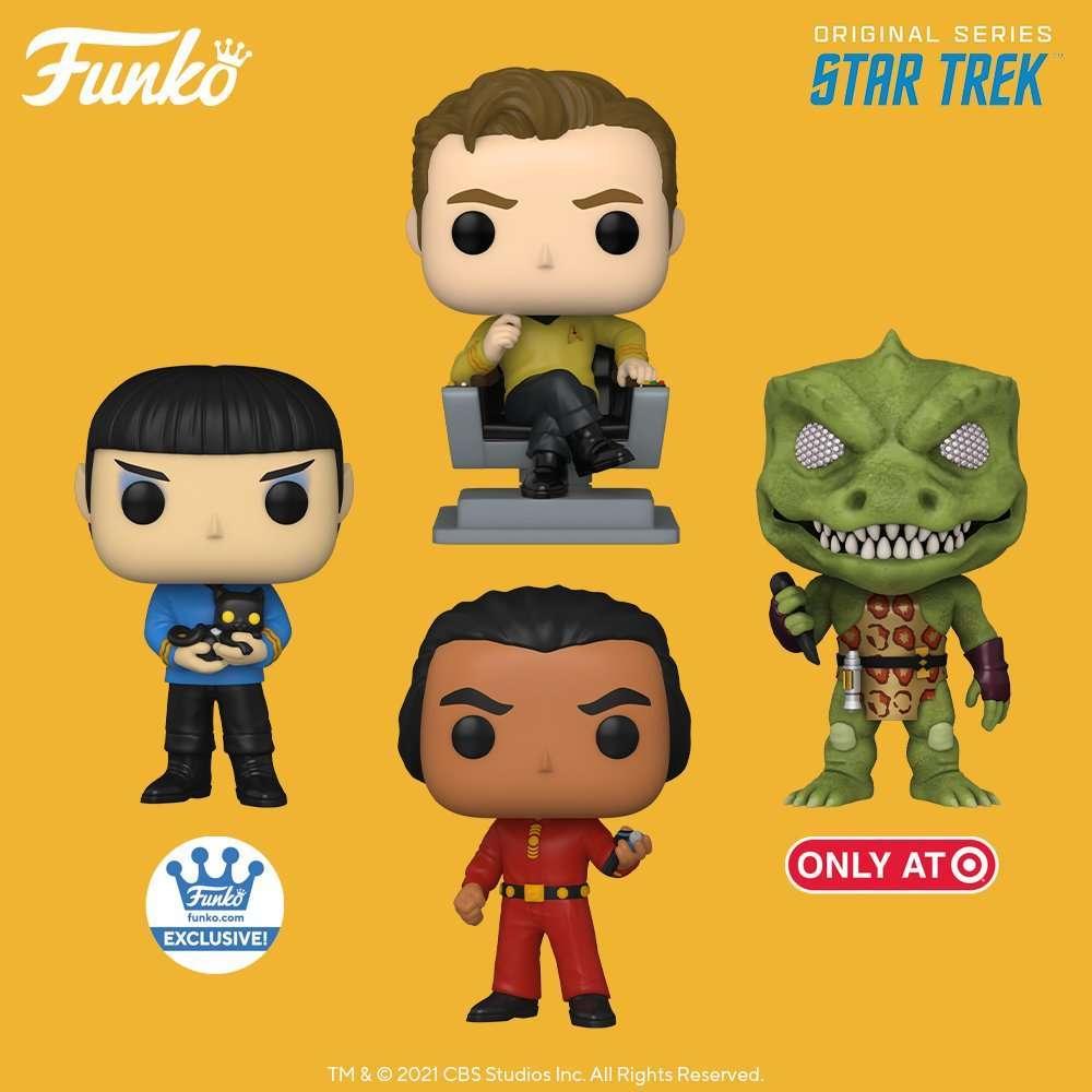 Star Trek: The Original Series' Gorn and Khan get their first Funko Pops 12