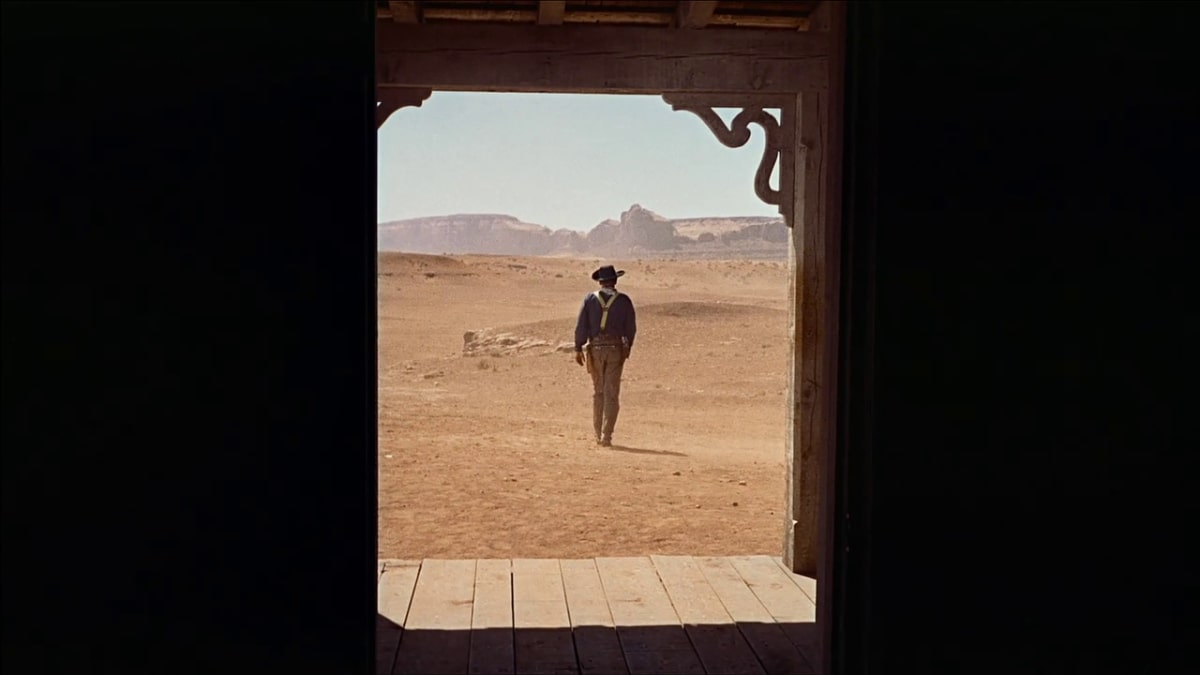 the searchers ending