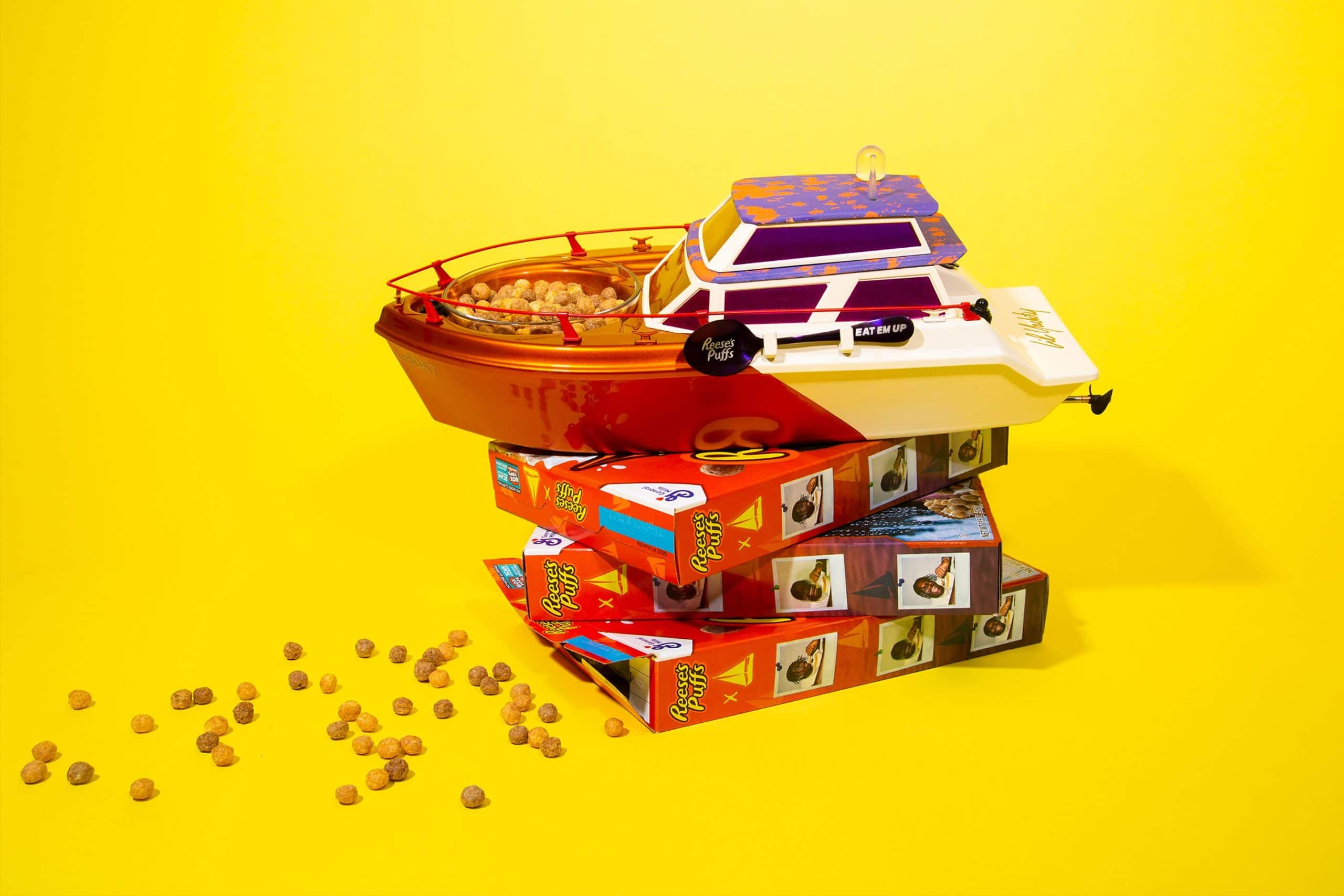 Lil Yachty x Reese's Puffs Lil Yacht takes cereal-eating experience to a new level 13