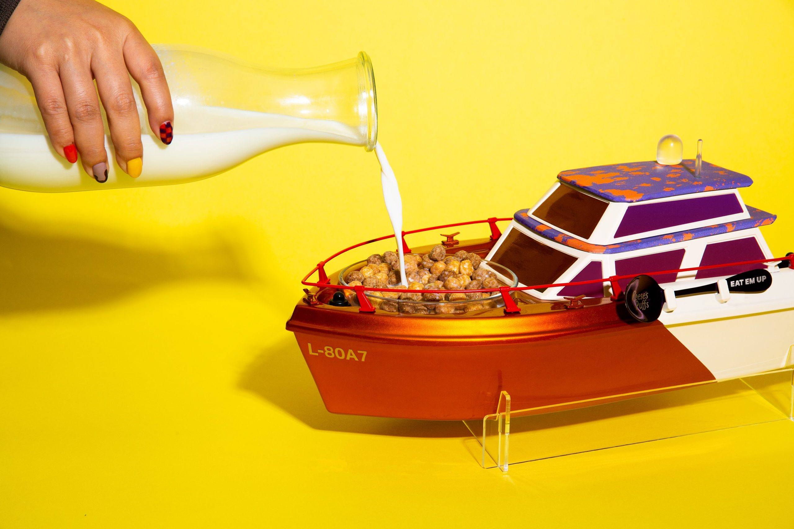 Lil Yachty x Reese's Puffs Lil Yacht takes cereal-eating experience to a new level 15