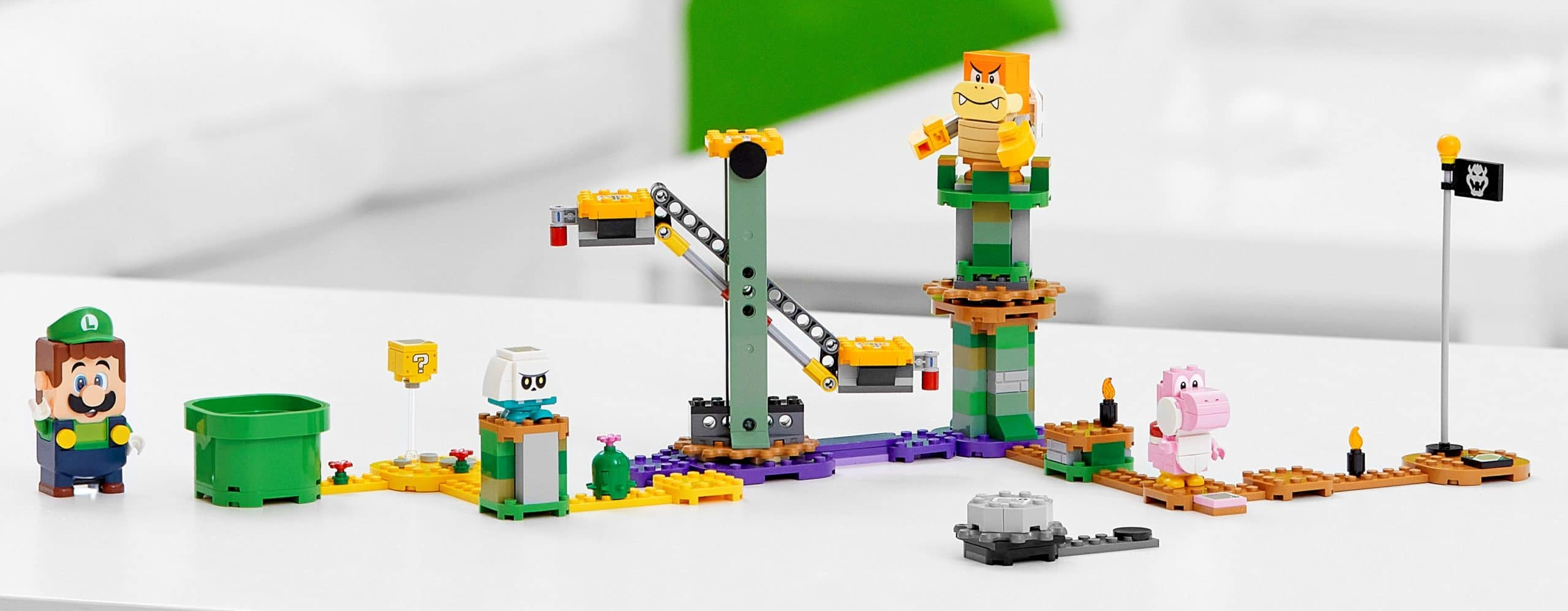 LEGO finally adds an interactive Luigi figure to its Super Mario line 13