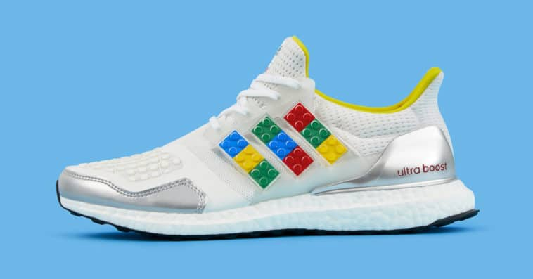 Adidas' new Ultraboost DNA sneaker is customizable with real LEGO plates 11