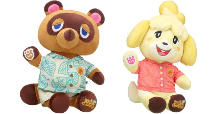 Animal Crossing: New Horizons Build-A-Bear collection includes Tom Nook and Isabelle 11