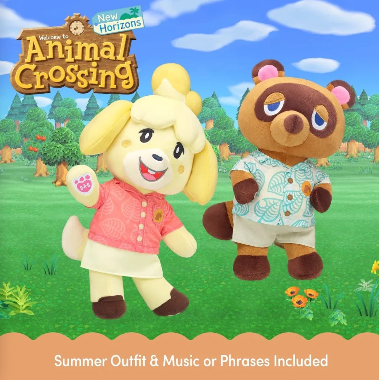 Animal Crossing: New Horizons Build-A-Bear collection includes Tom Nook and Isabelle 12